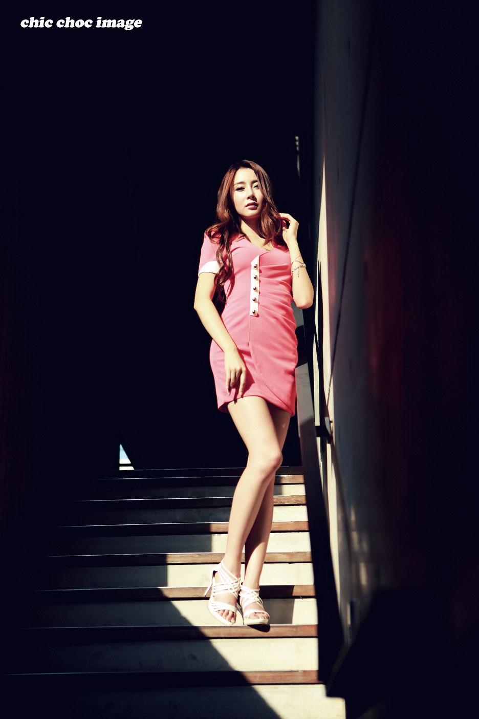 Korean photography model Eun Bin Yang