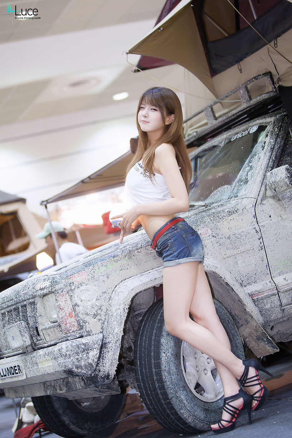 Heo Yun Mi Korea Auto Camping Show