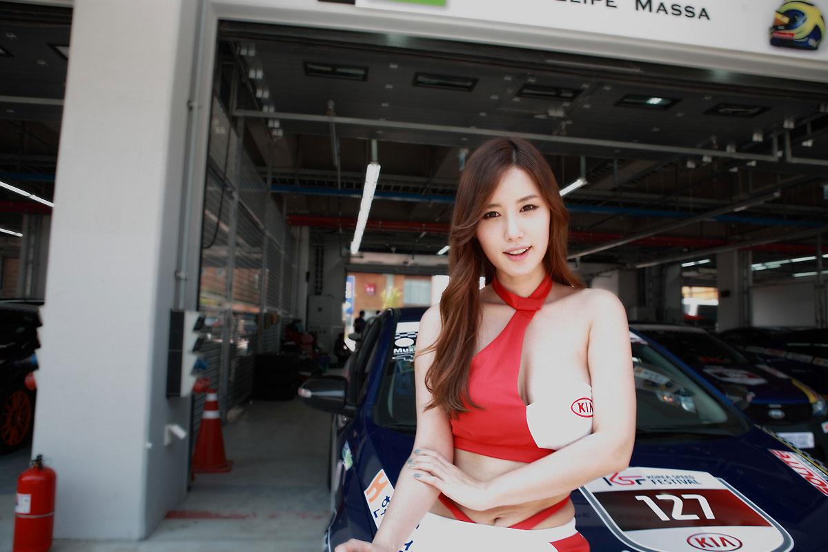 Song Jina Korea Super Race