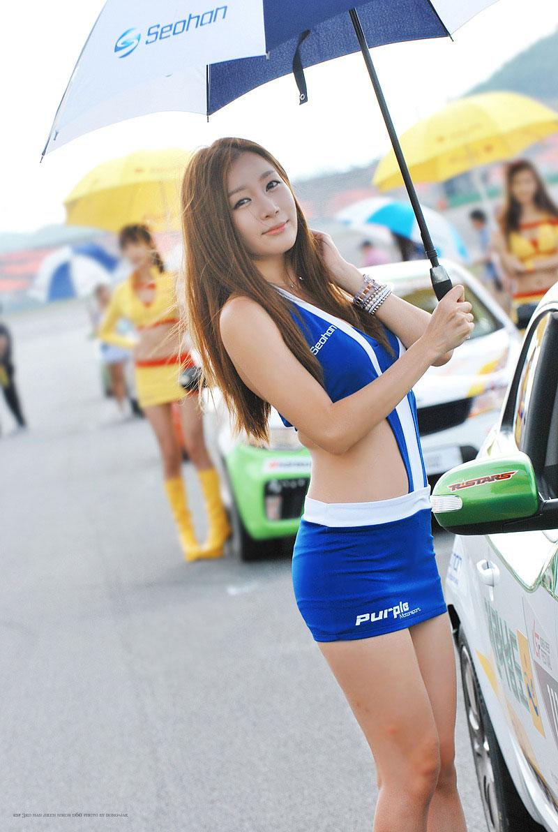 Han Ji Eun Korea Speed Festival 2012