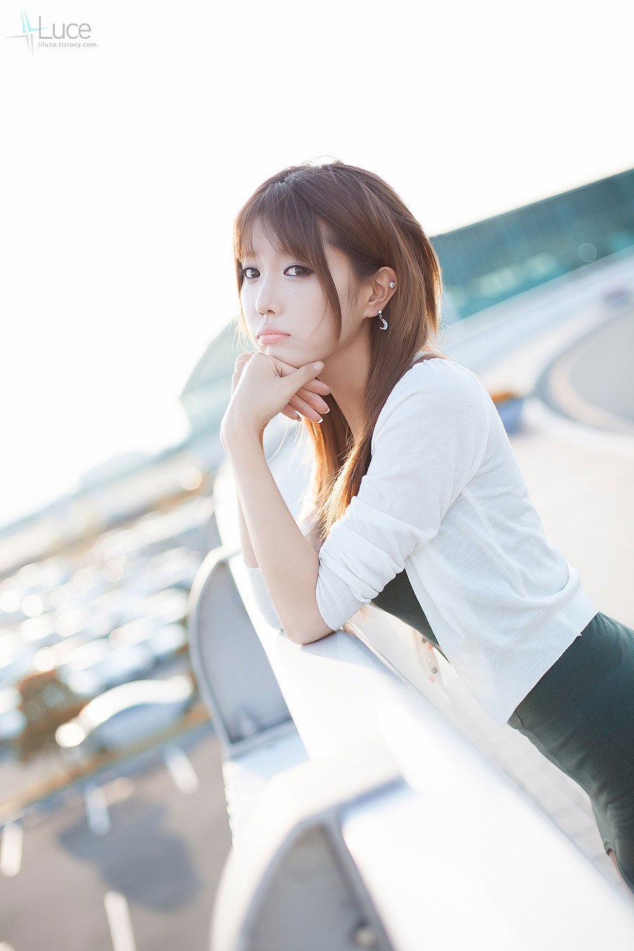 Korean model Heo Yun Mi photography