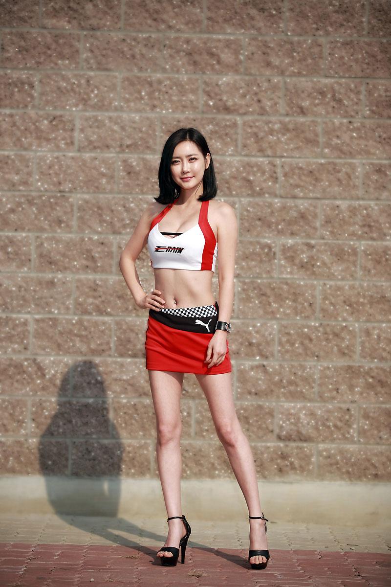 Min Soo Ah Korea Super Race Championship 2012
