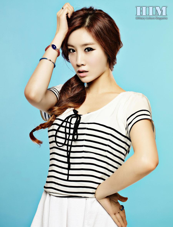 Girls Day Jihae HIM Magazine