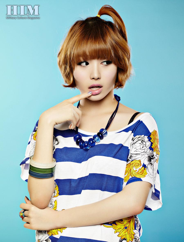 Girls Day Yura HIM Magazine
