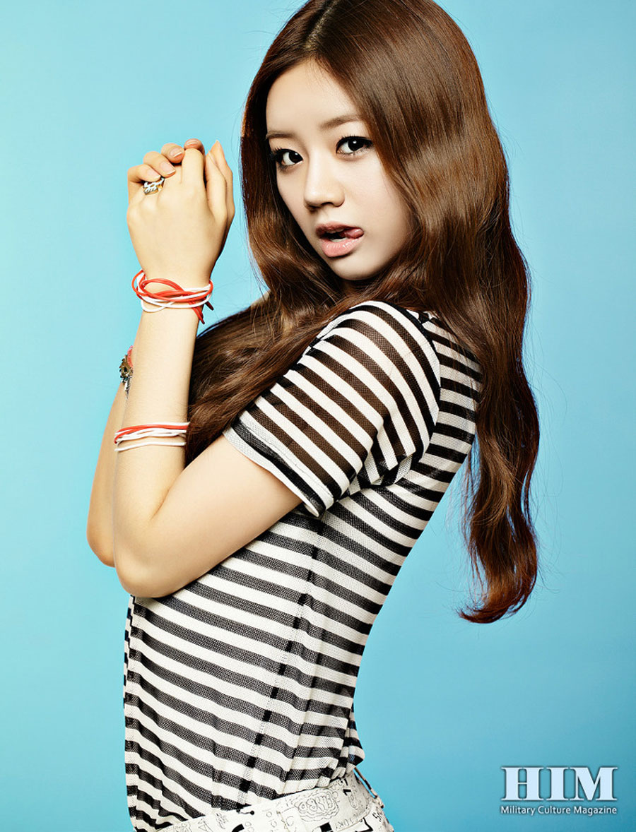 Girls Day Hyeri HIM Magazine