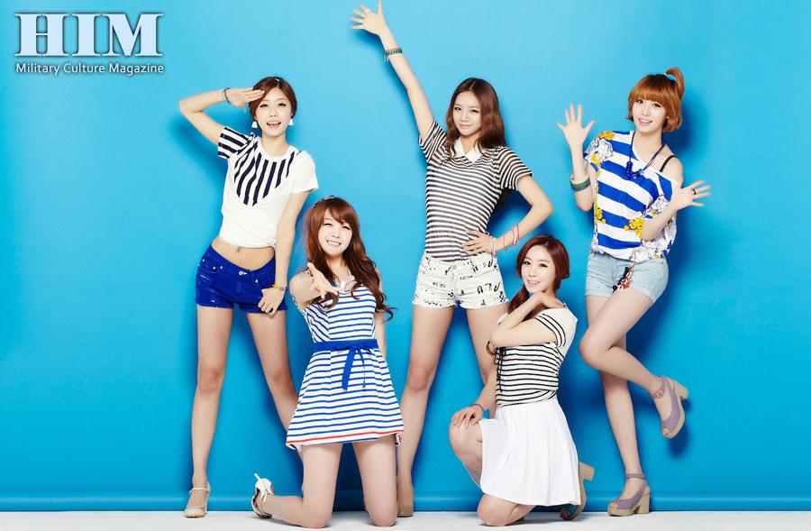 Girls Day members HIM Magazine