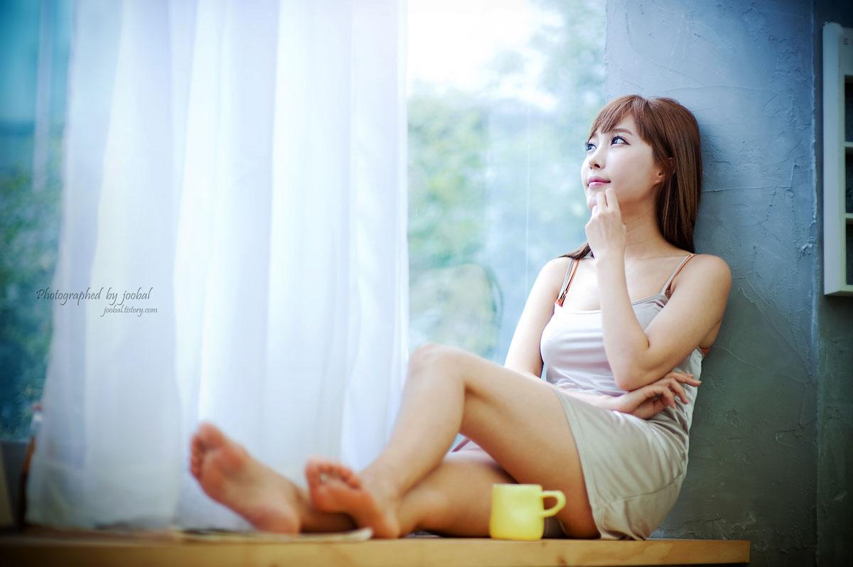 Korean model Im Min Young