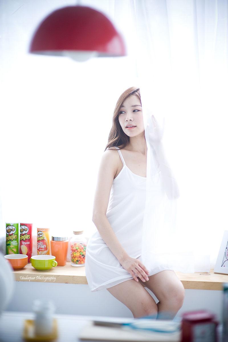 Korean model Lee Gyuri