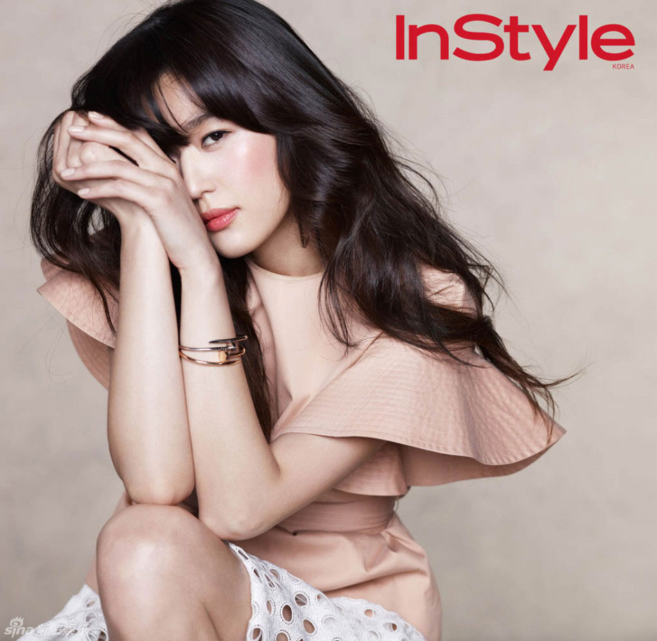 Actress Jun Ji Hyun Instyle Magazine