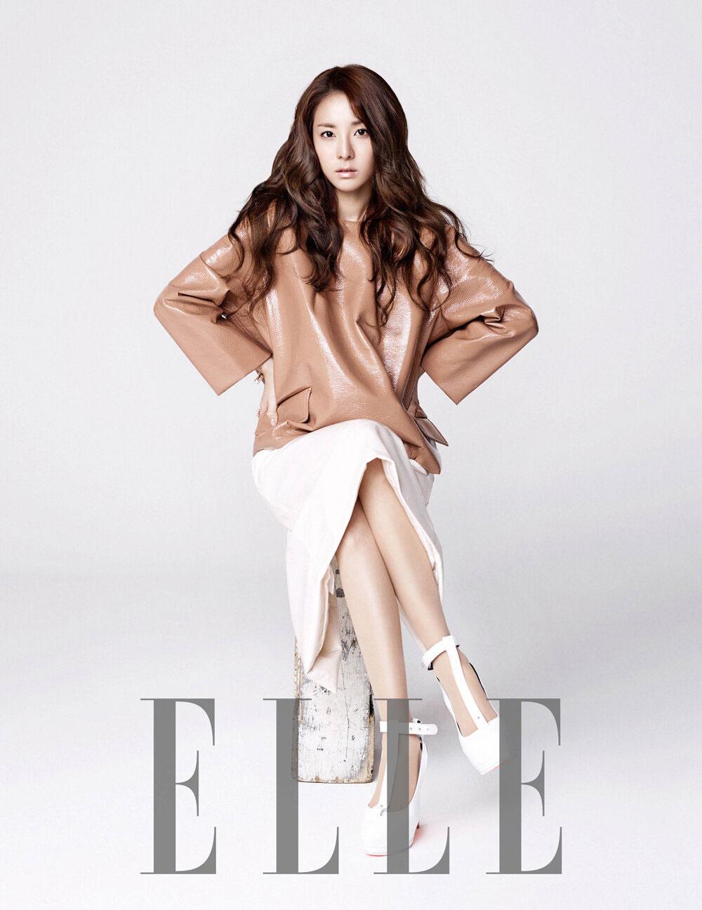 2ne1 Sandara Park Elle Magazine
