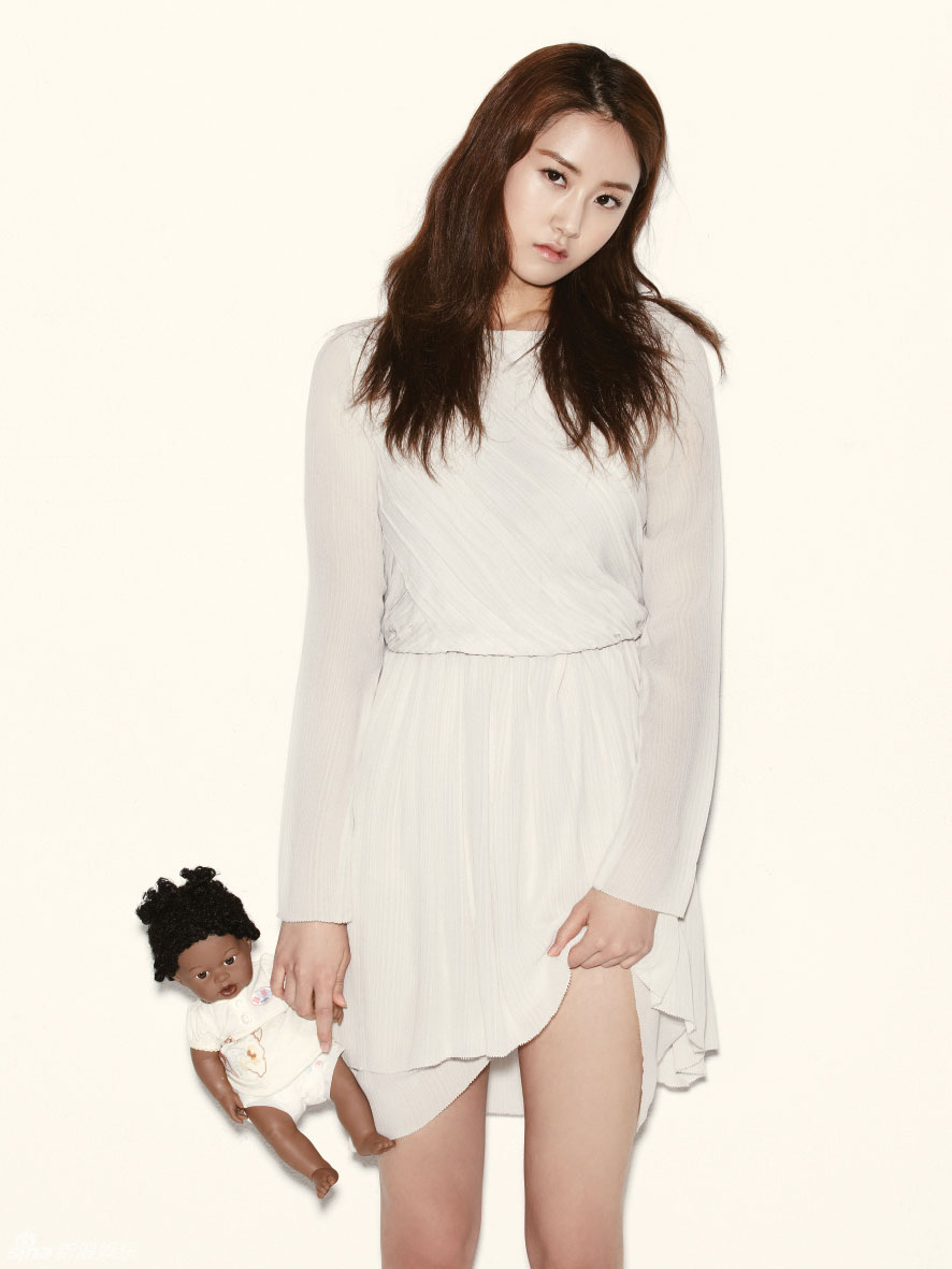 4Minute Gayoon Korean OhBoy Magazine