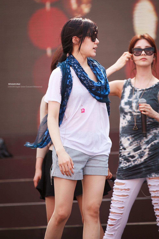 Girls Generation Thailand rehearsal