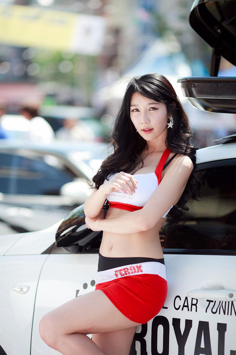 Go Jung Ah Daegu Steet Motor Festival 2013