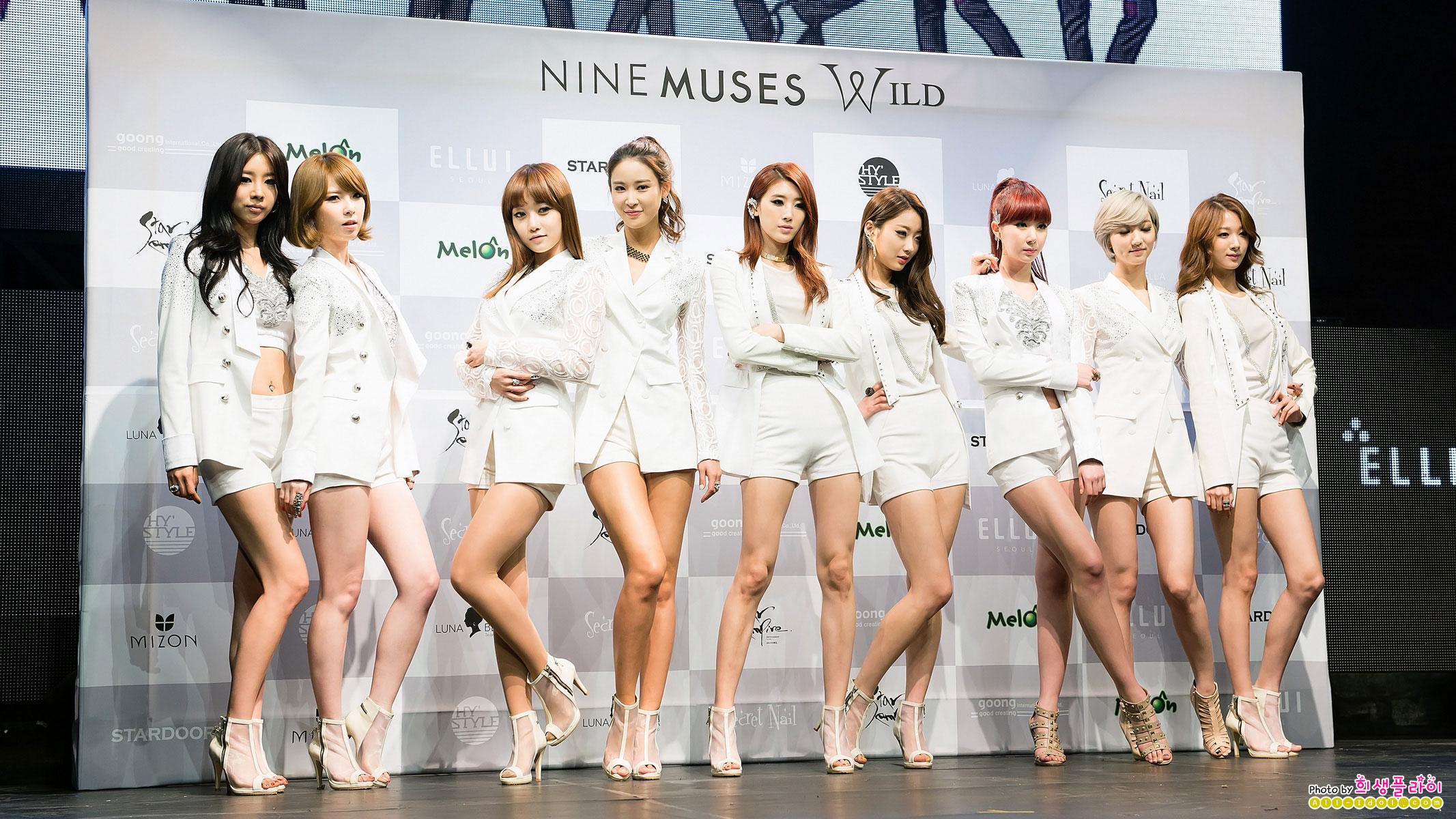 Muses Wild Girl Group Nine Muses Wild