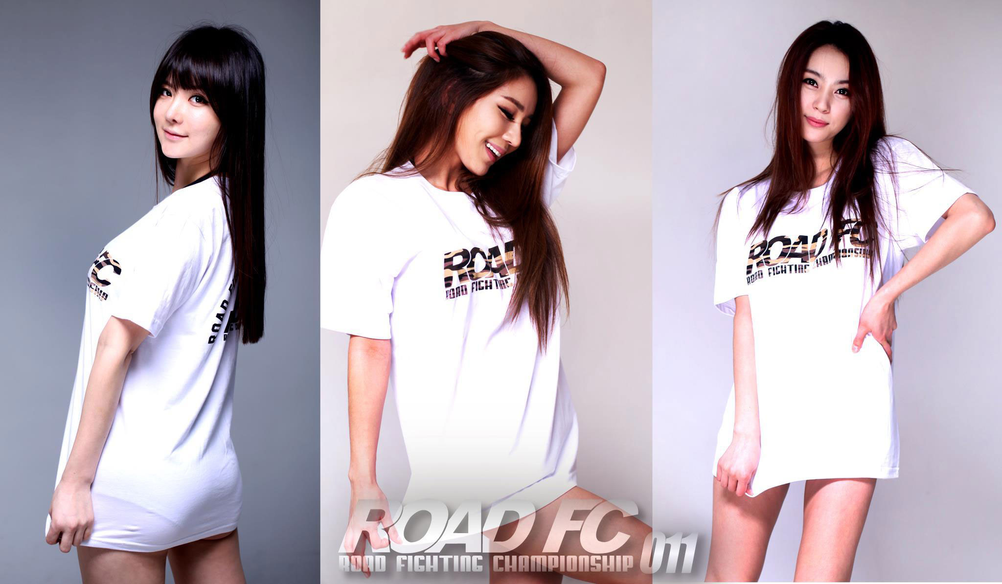 Korean ROAD FC Ring Girls 2013