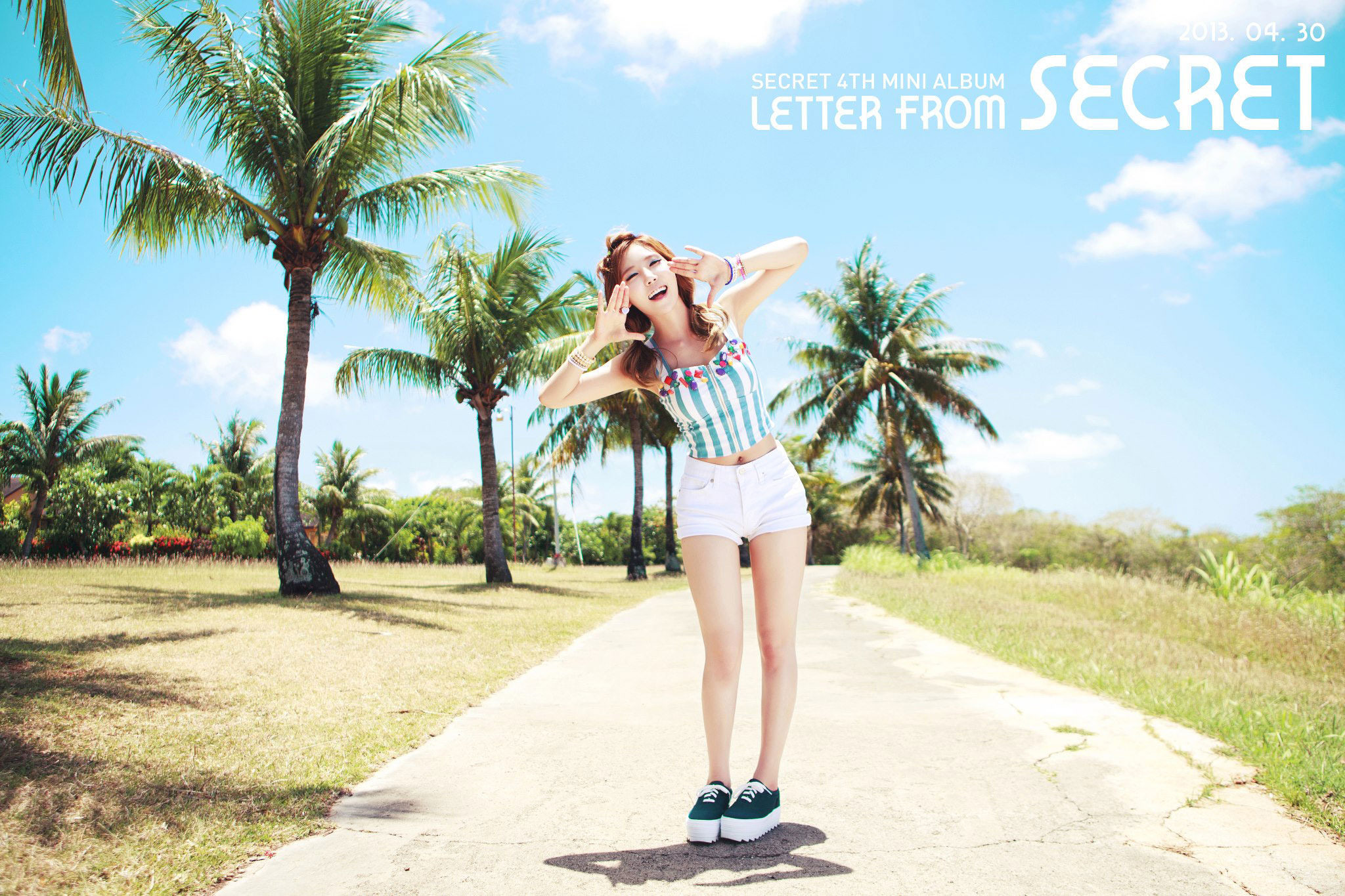 Secret Hana Letter album