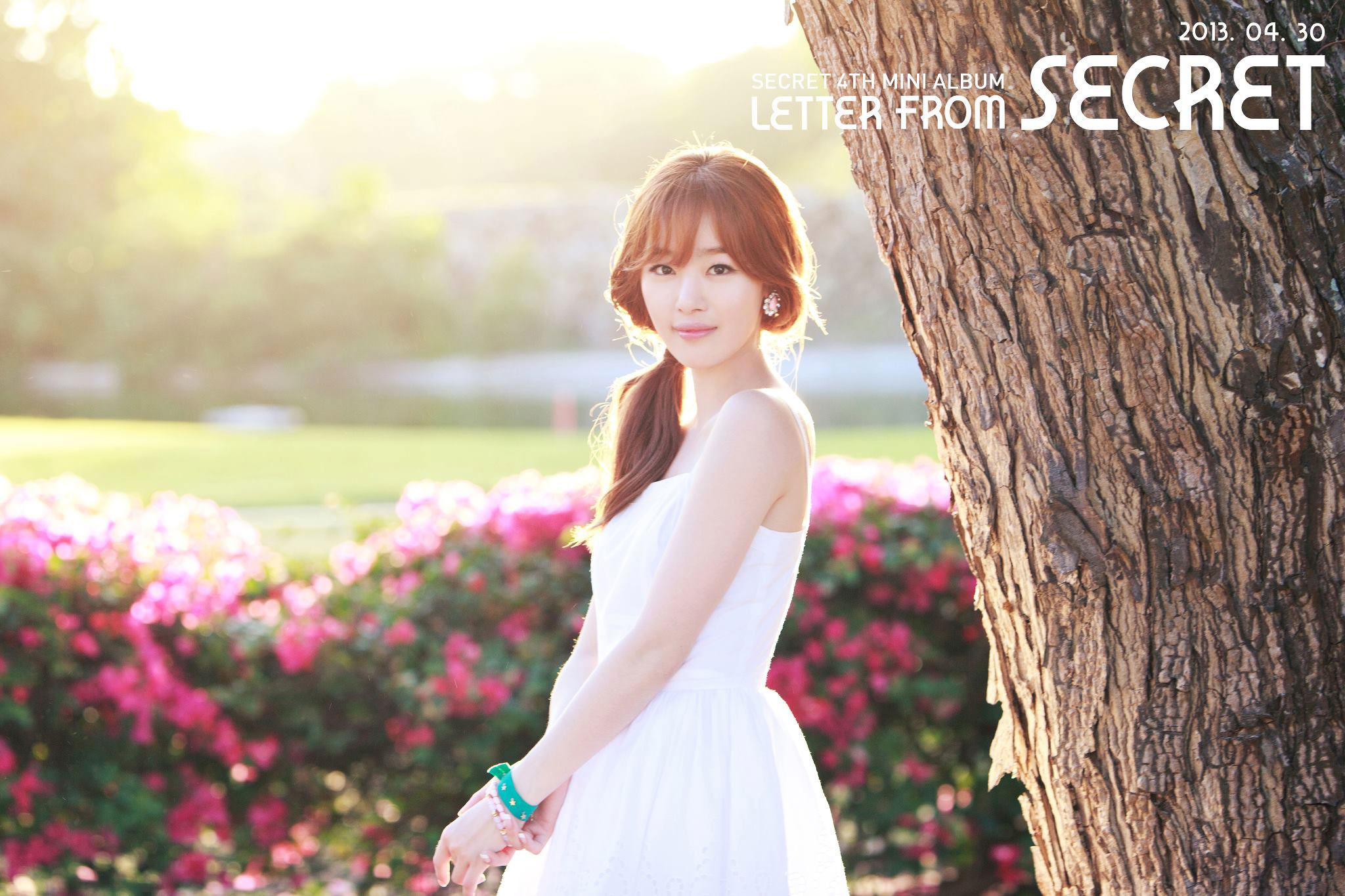 Secret Sunhwa Letter album