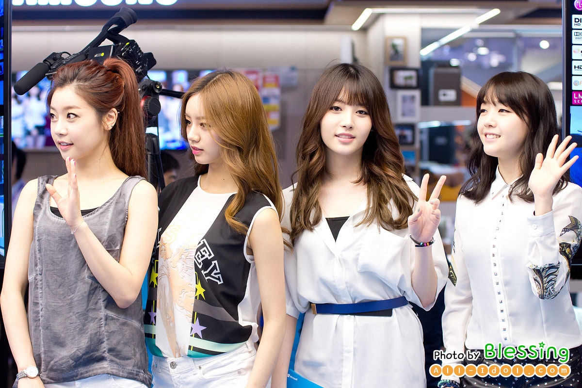 Girls Day Microsoft Surface launching event