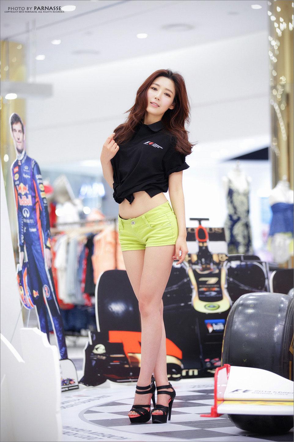 Jo Sang Hi Korean F1 promotion