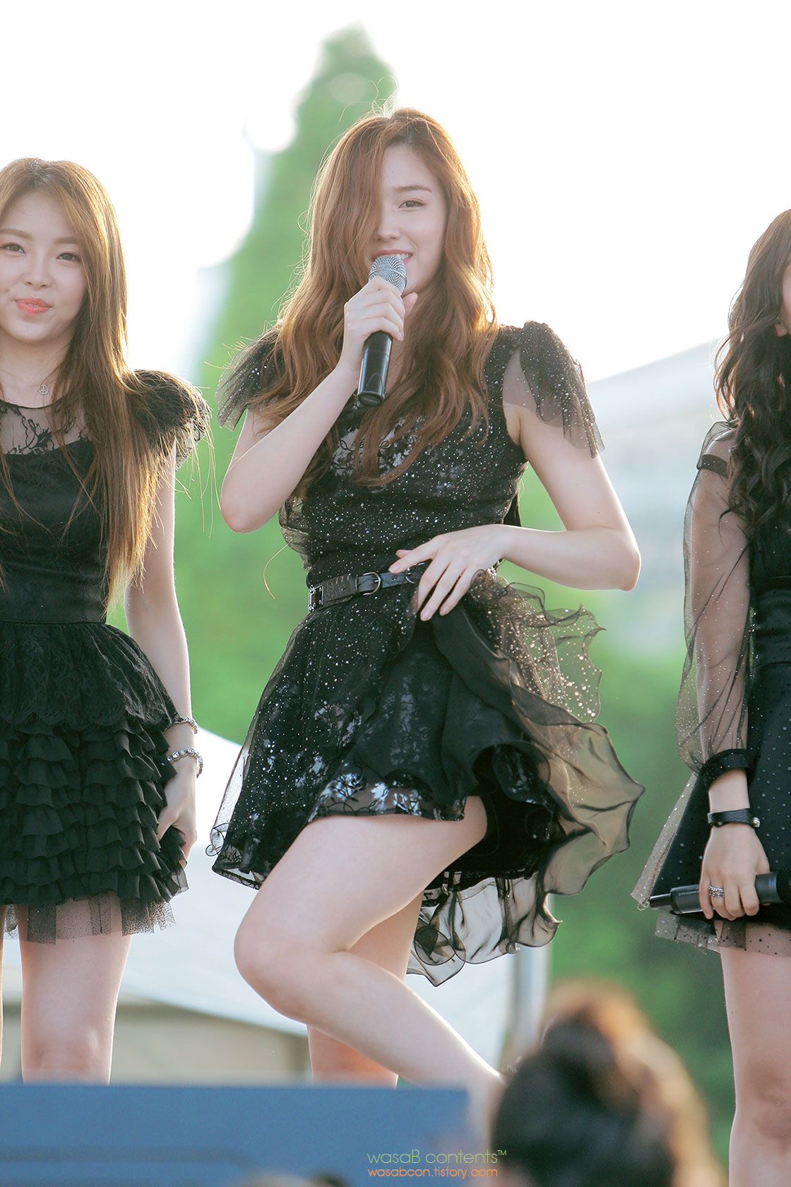 Korean girl group Chocolat Tia