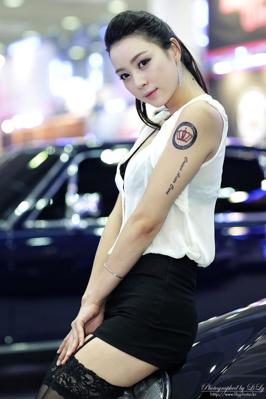 Ju Da-Ha Seoul Auto Salon 2013