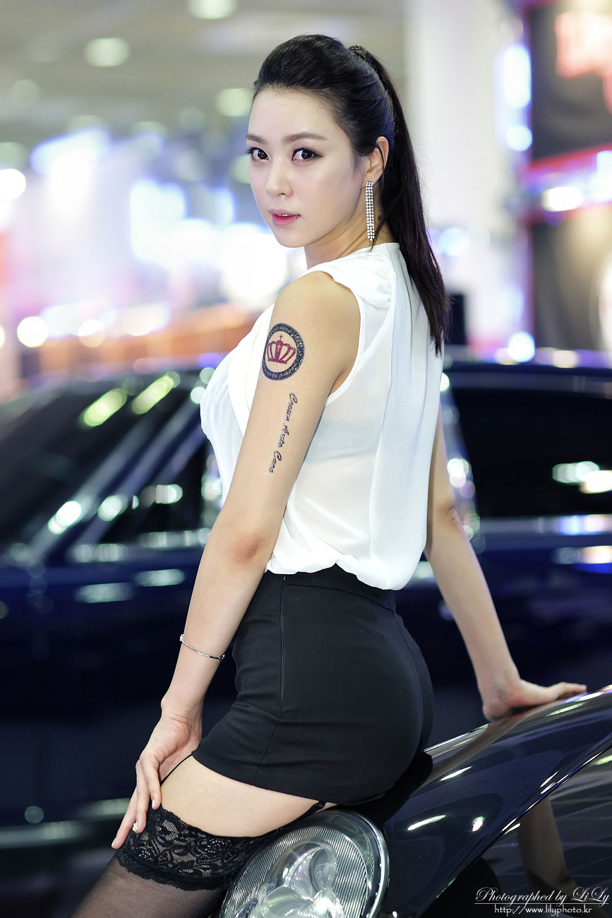 Cute Asian Girl: Ju Da Ha - Seoul Auto Salon 2012