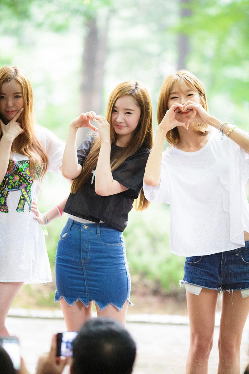Dal Shabet Korean mini fanmeet