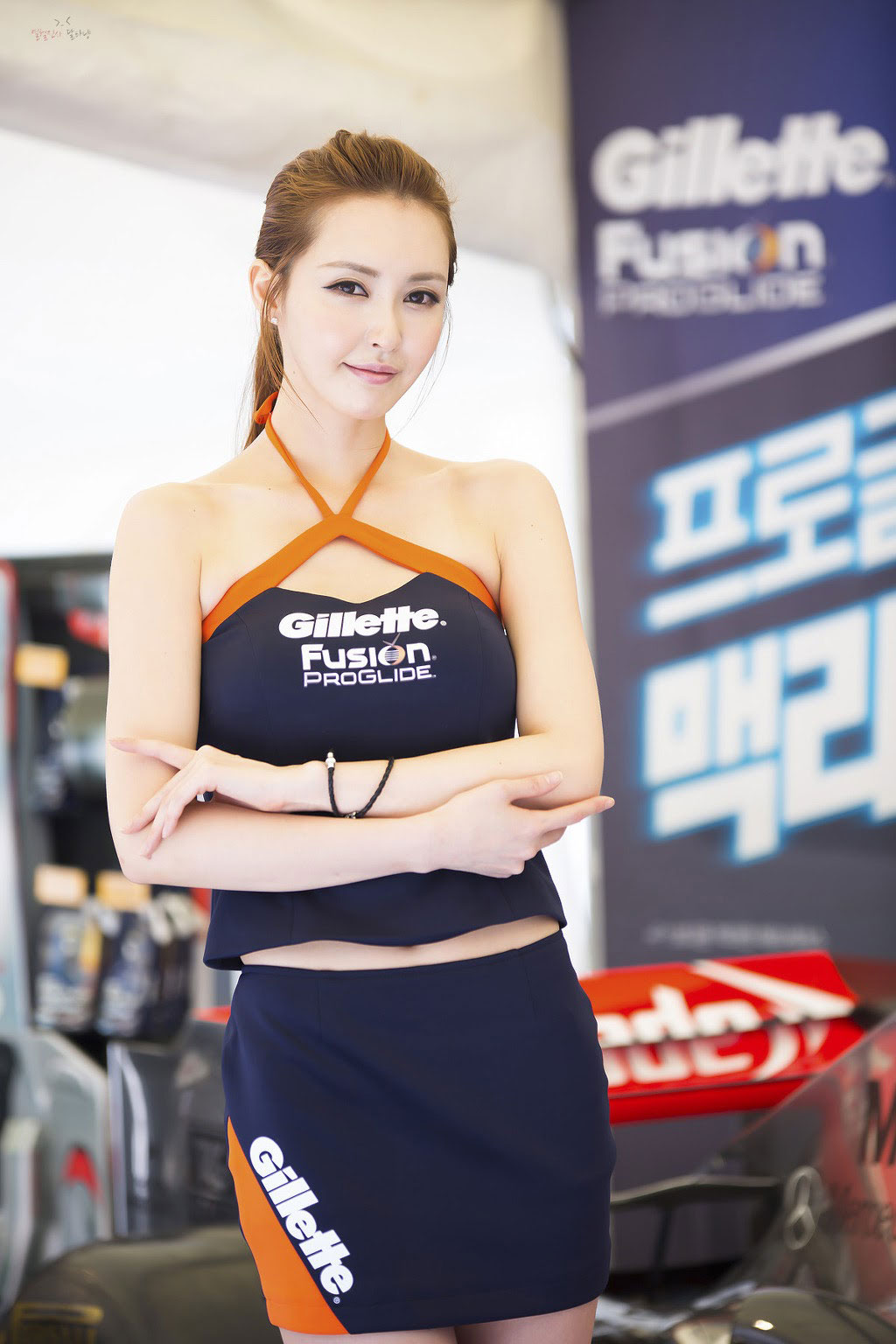 Kang Yui Korean Gillette F1 event