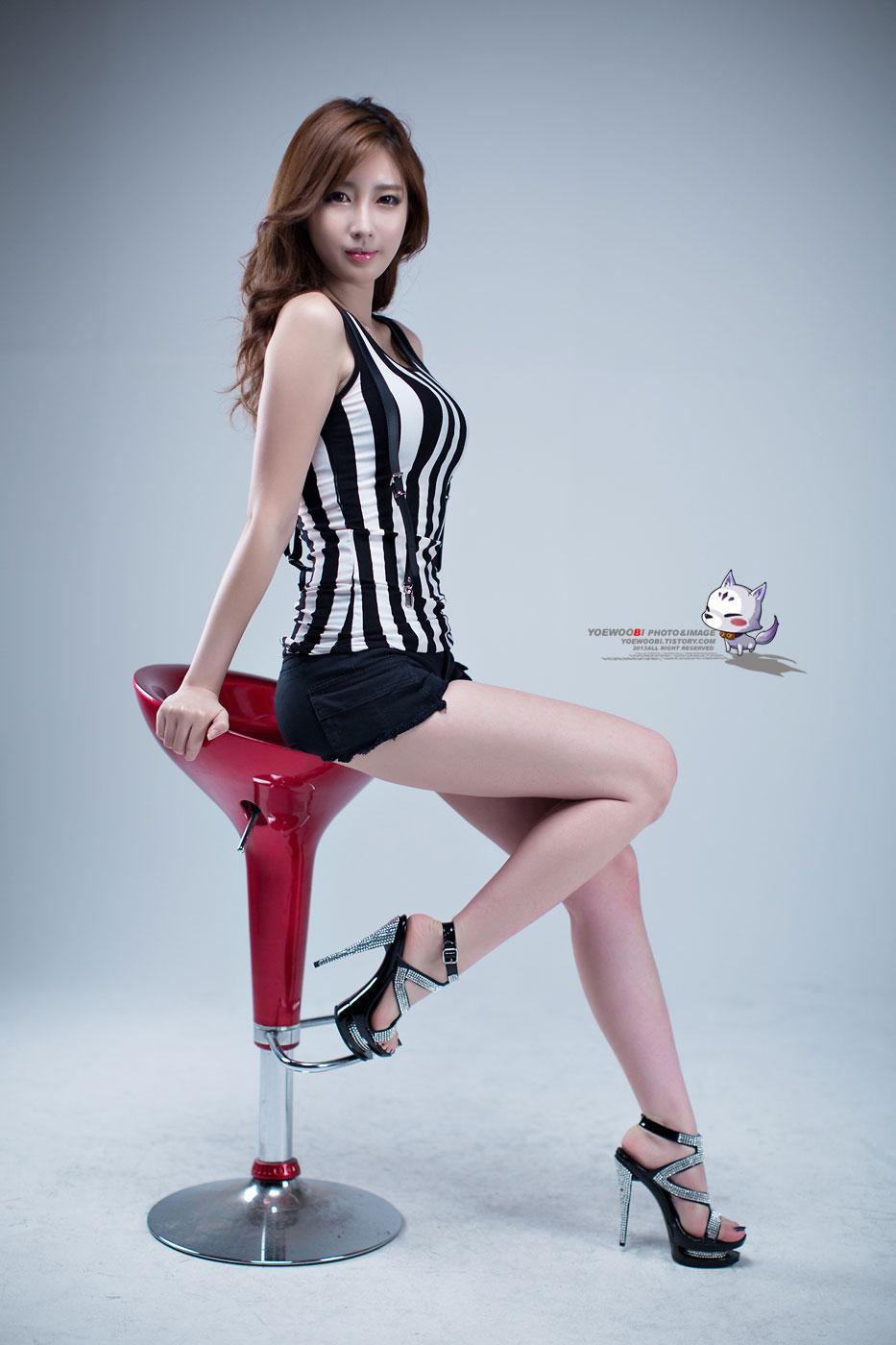 Korean model Shin Se Ha