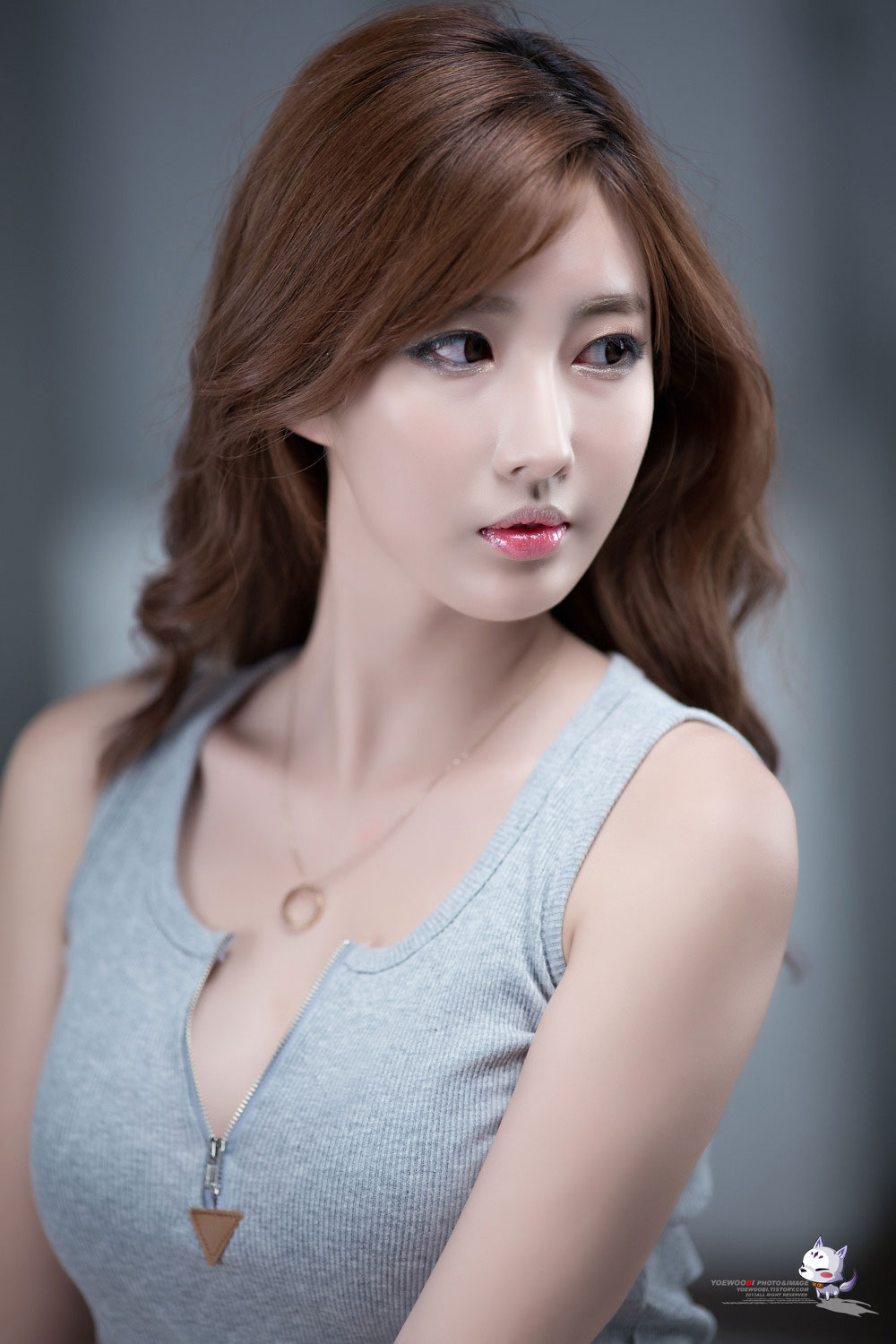 Korean model Shin Se Ha
