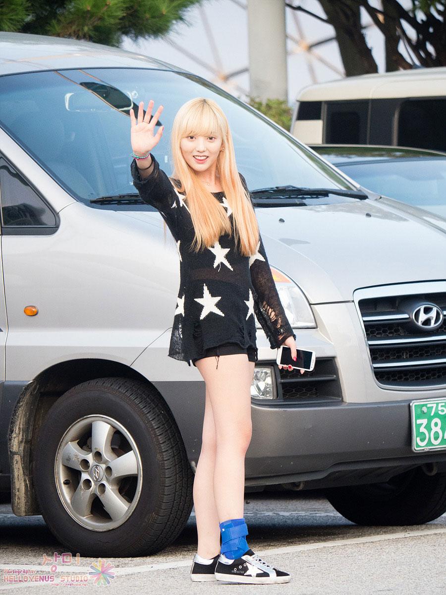 Hello Venus Yoonjo airport style