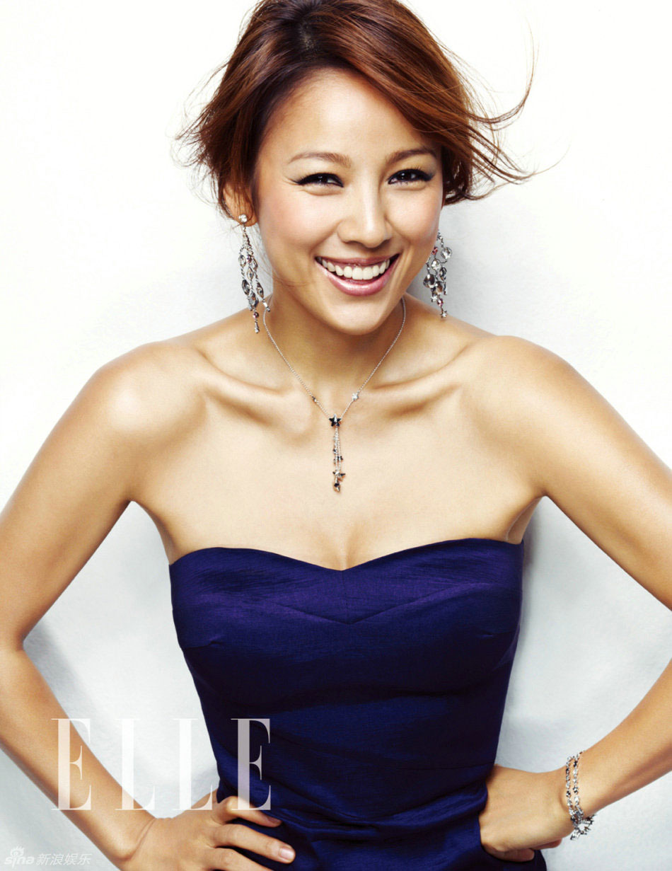 Lee Hyori Korean Elle Magazine