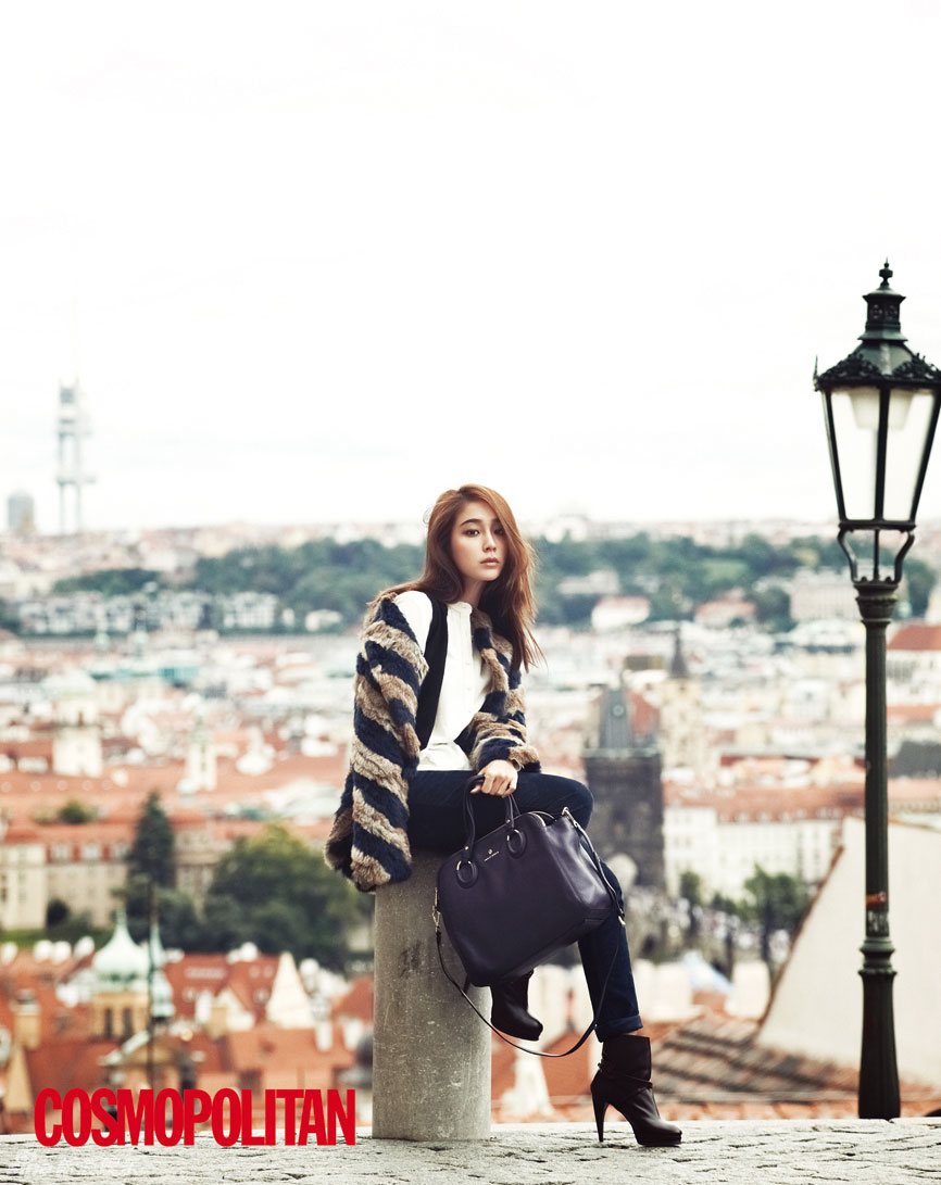 Lee Min Jung Korean Cosmopolitan Magazine
