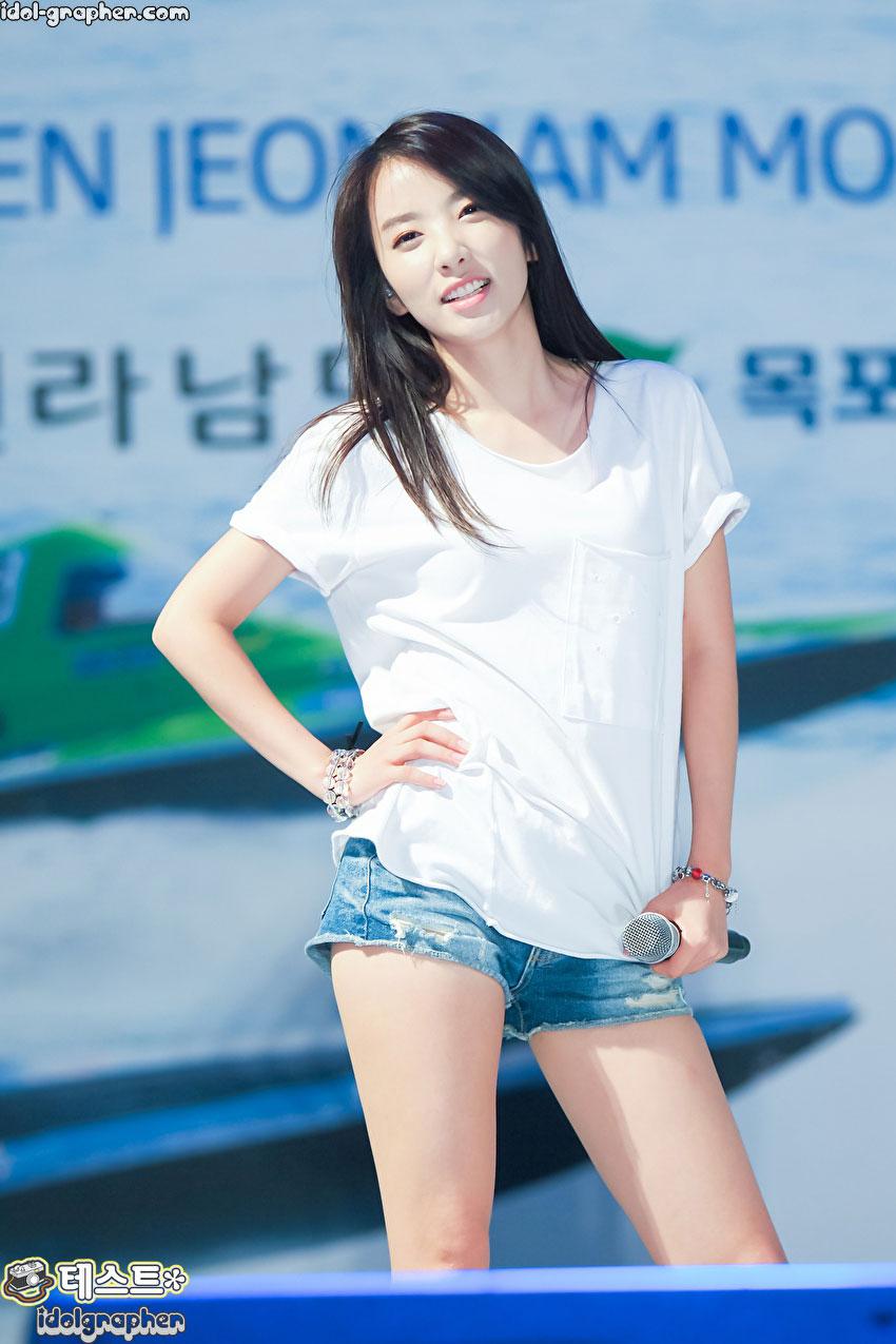 Rainbow Jisook Korean Powerboat Grand Prix