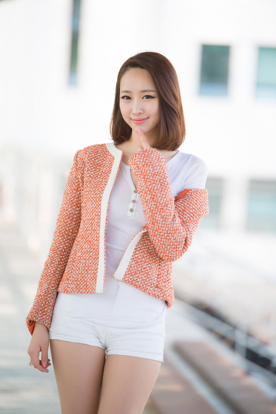 Korean model Shin Haeri