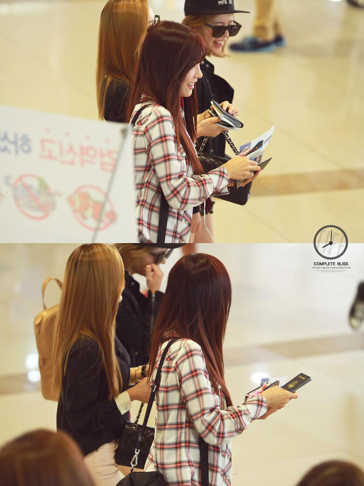 SNSD Tiffany Korean airport fashion