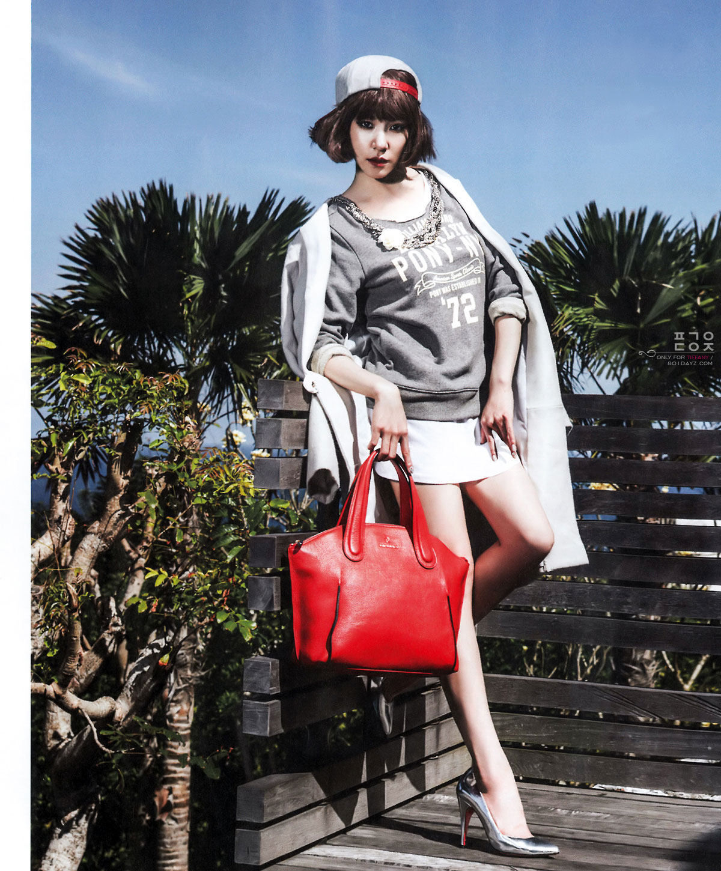 Tiffany Hwang Korean Nylon Magazine