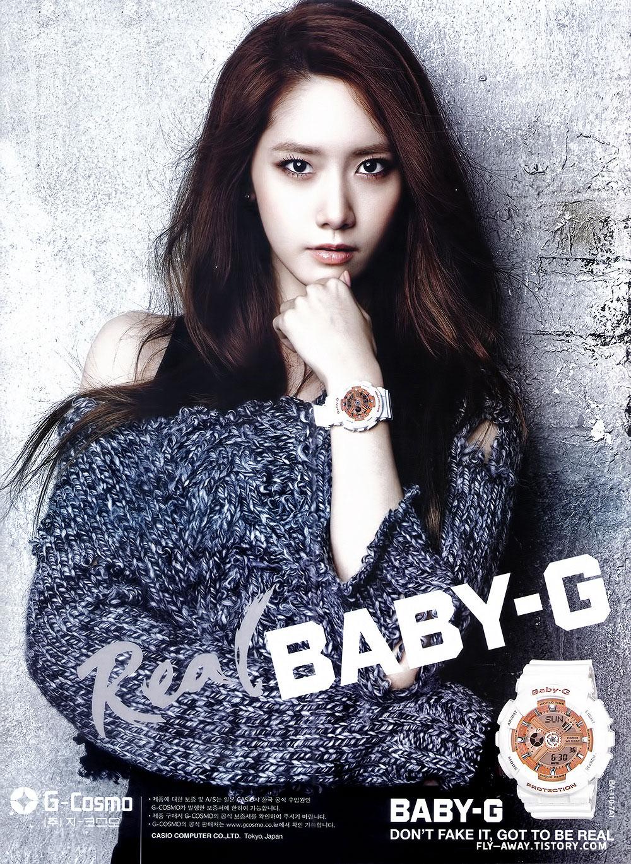 Girls Generation Yoona Baby-G watches