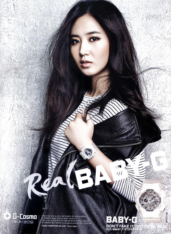 Girls Generation Yuri Baby-G watches
