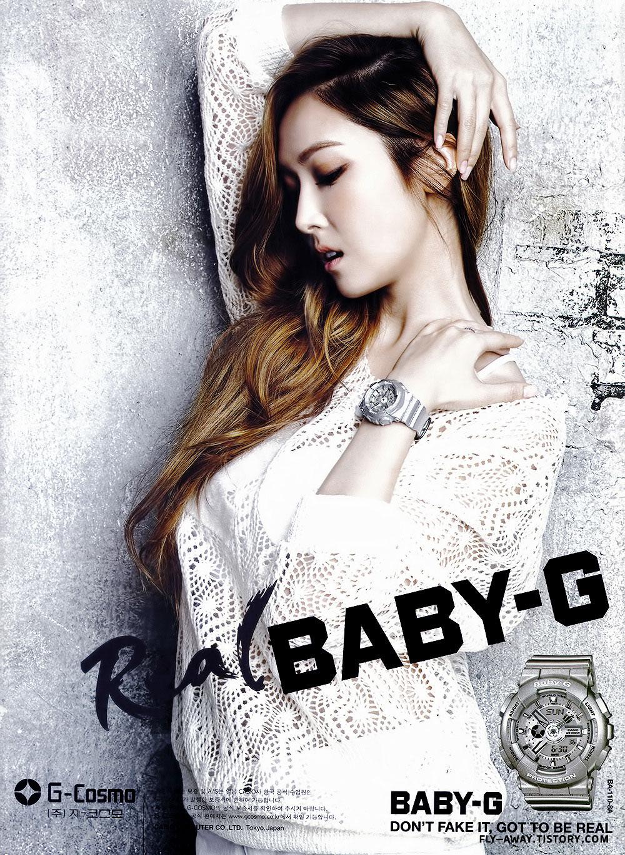 Girls Generation Jessica Baby-G watches