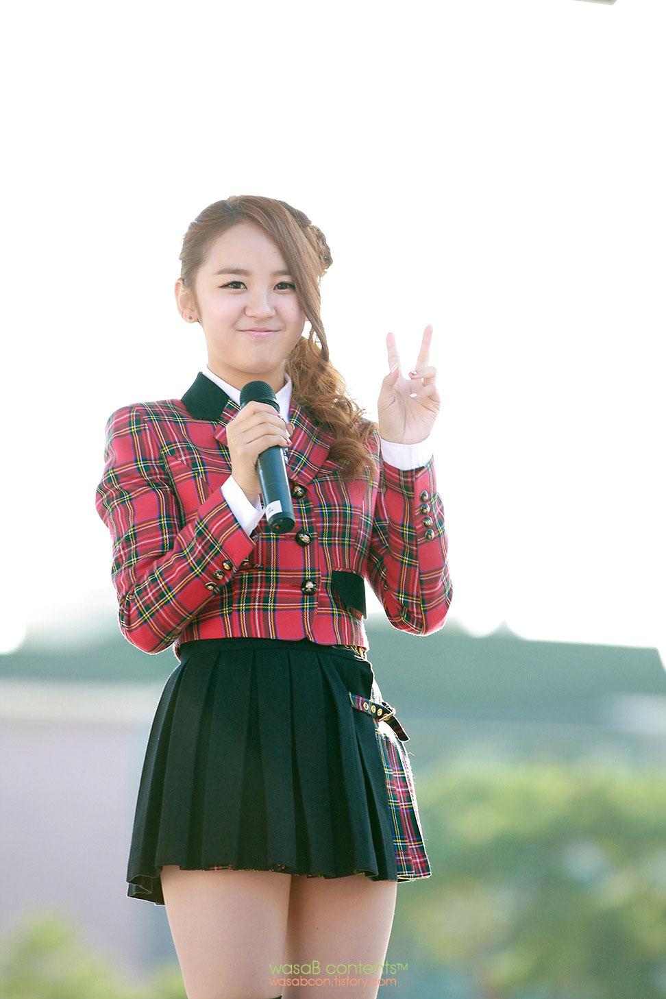 Korean pop idol singer NC.A