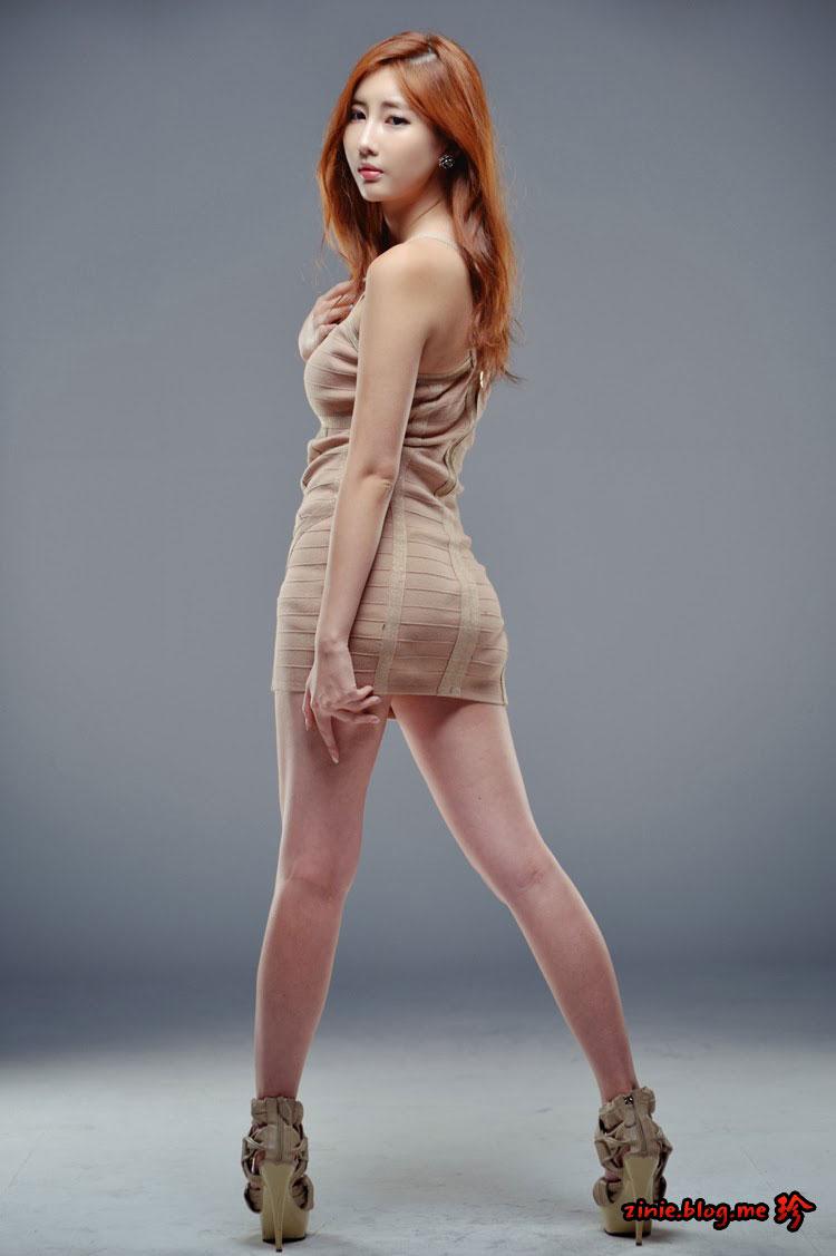 Shin Se Ha mini dress photoshoot