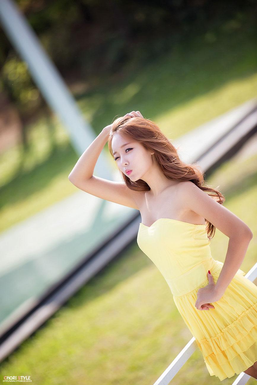 Korean model Lee Da Hee photography