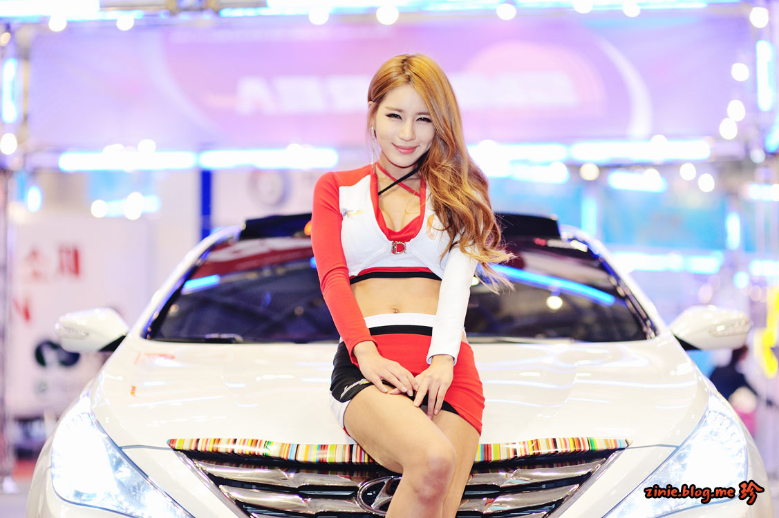 Park Si Hyun Green Car Korea 2013