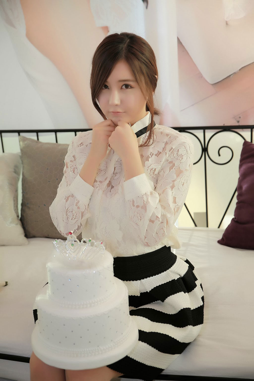 Korean model Ryu Ji Hye birthday