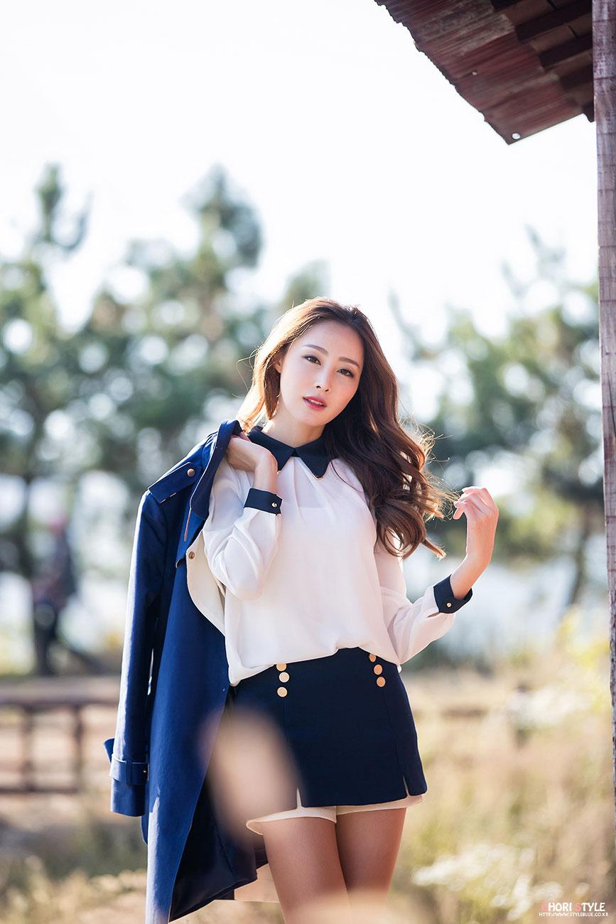 Eun Bin silky outdoor photoshoot