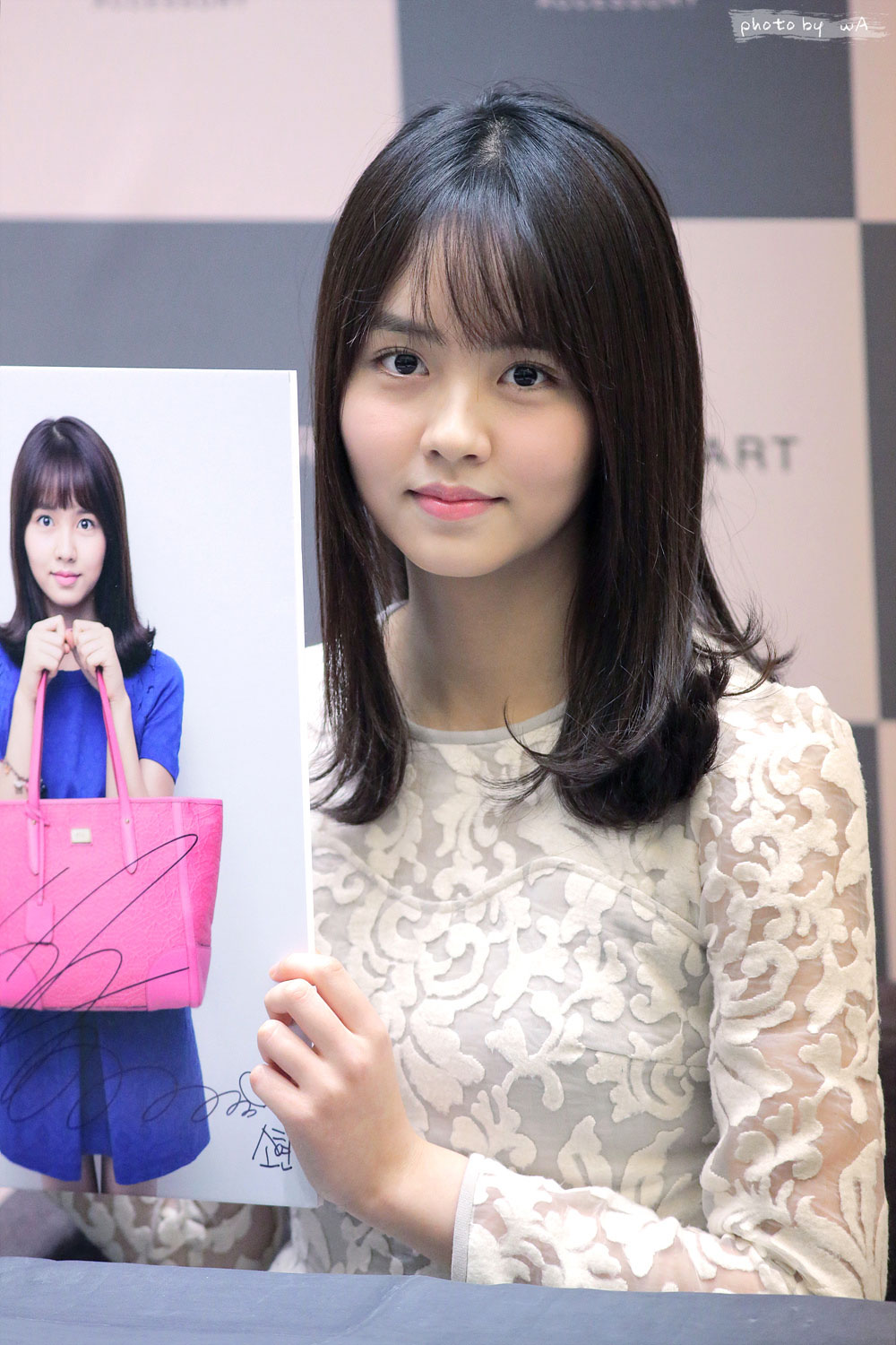 Kim So Hyun Jill Stuart fan signing event