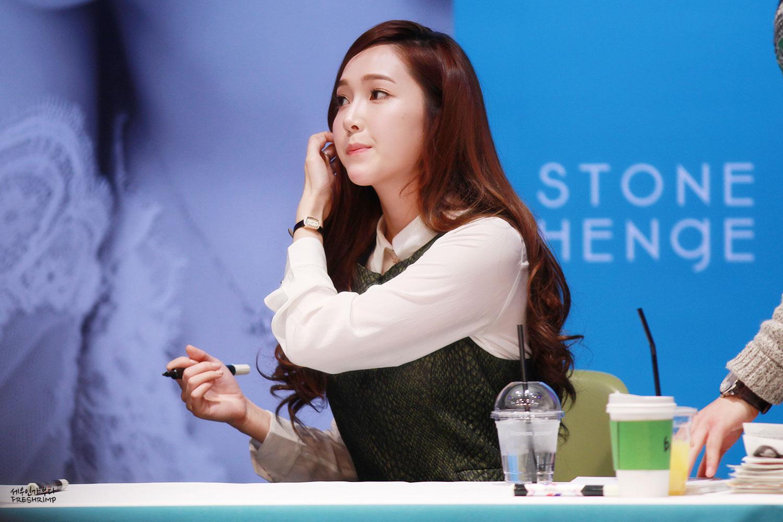 Jessica Jung StoneHenge jewellery fansign