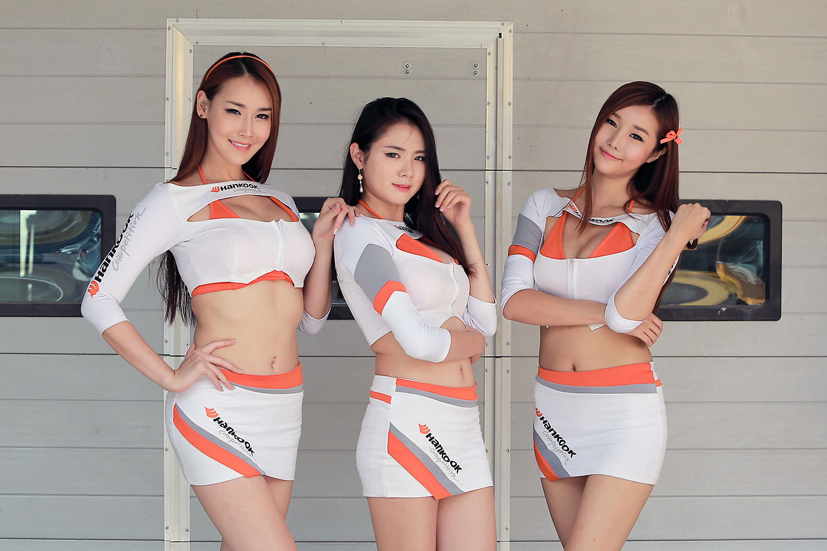 Korea Speed Festival Hankook race queens 2013