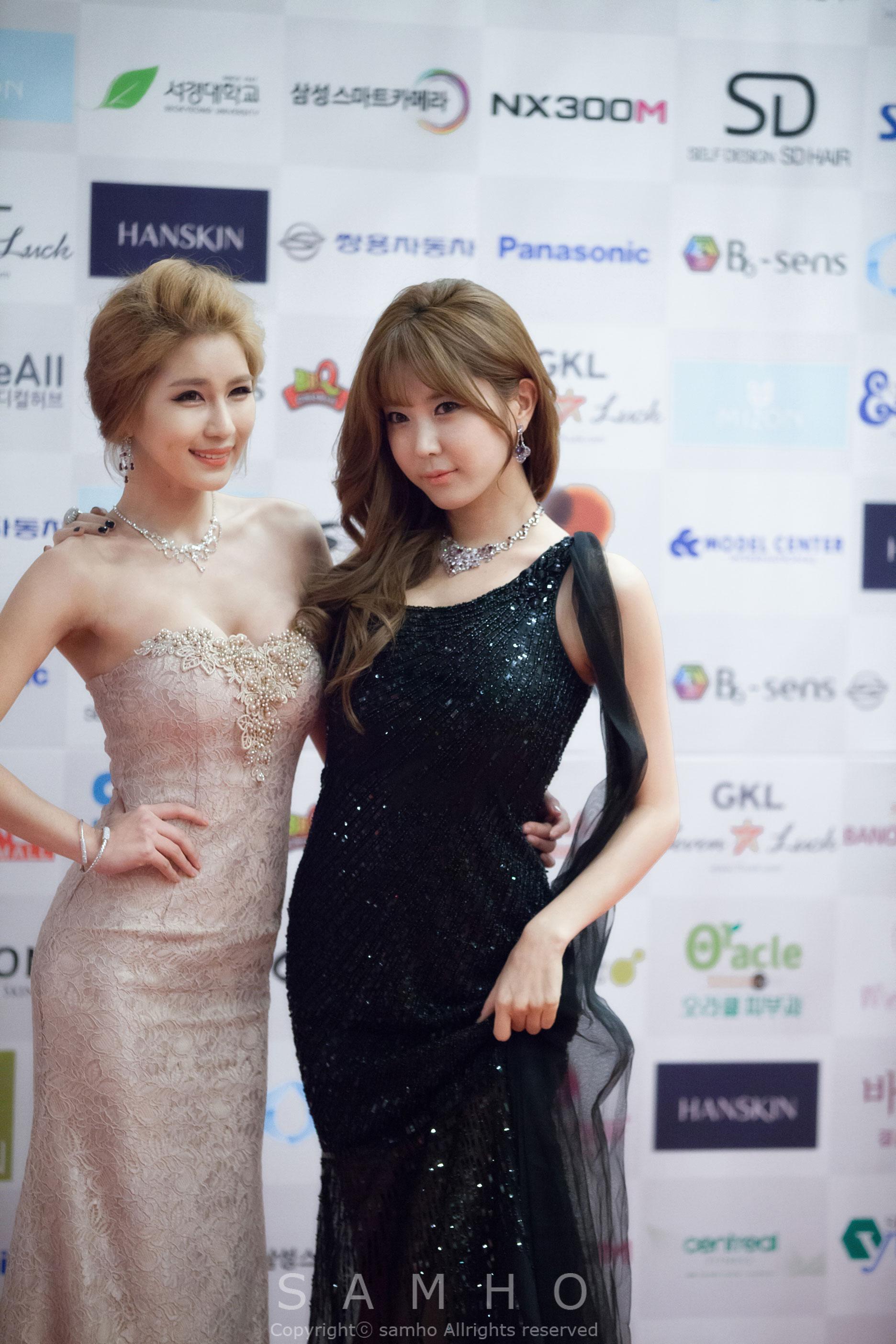 Heo Yun Mi Park Si Hyun Asia Model Awards